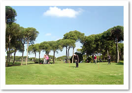 Golf course at Nuevo Portil